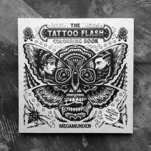 The Tattoo Flash Coloring Book Activity The Butcher Shop