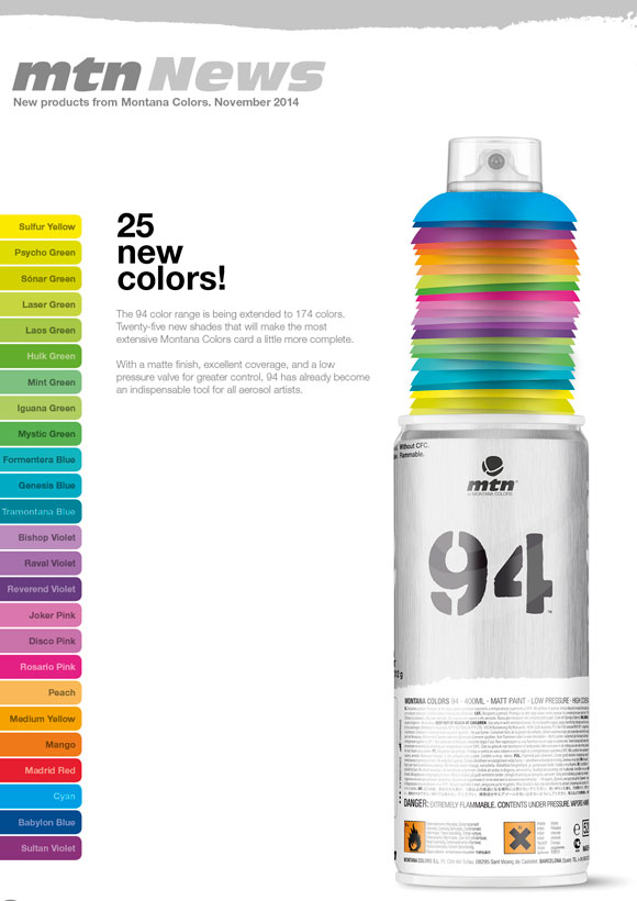 Introducing 25 New Mtn 94 Colours The Butcher Shop
